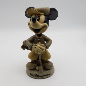 Walt Disney world Golf Micky Mouse bobble head